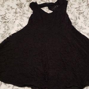 Torrid black lace dress size 2